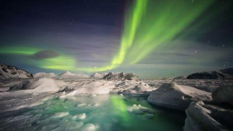 Northern Lights Around Iceland