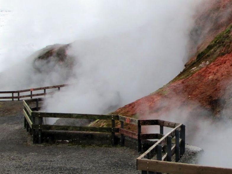 Glaciers and Hot Springs Guided Tour