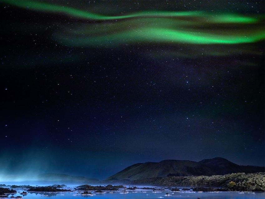 Northern Lights And Blue Lagoon All Iceland