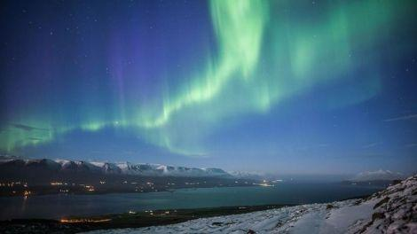 Northern Lights and Blue Lagoon