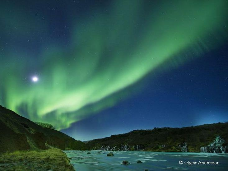 Northern Lights in the North