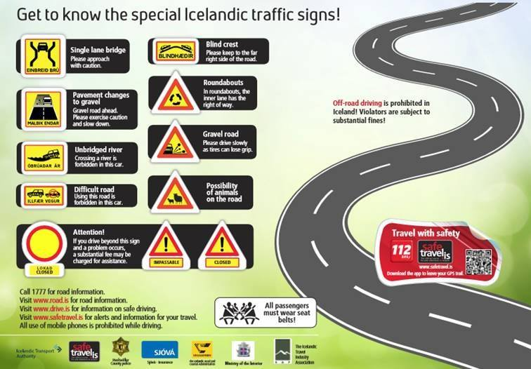 Tips for Driving Safely - All Iceland